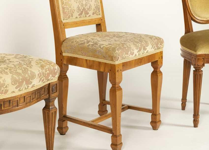 2 Louis Xvi Chairs,Baroque Chair - photo 2