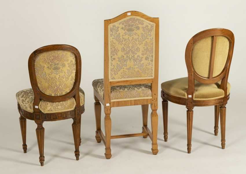 2 Louis Xvi Chairs,Baroque Chair - photo 3