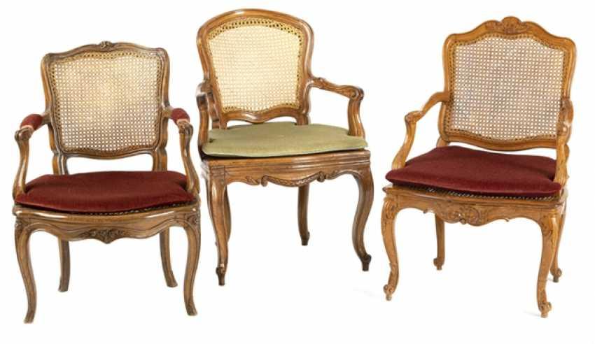 3 Rokoko-Chairs - photo 1