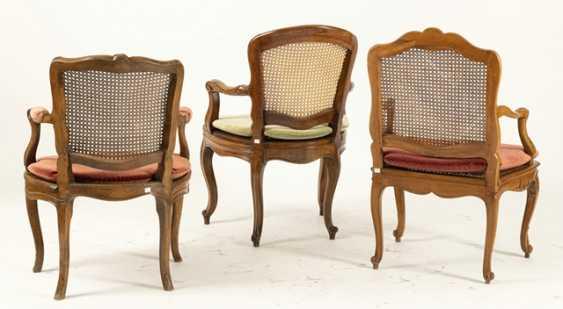 3 Rokoko-Chairs - photo 3