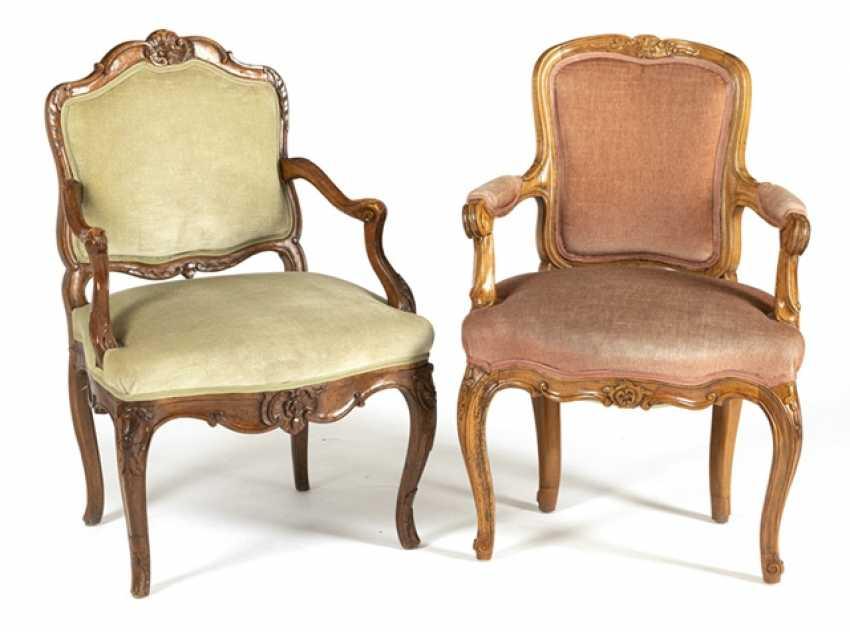 2 Rokoko-Chairs - photo 1