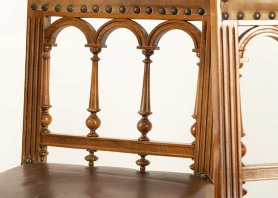 Set Of 5 Historicism-Chairs - photo 2