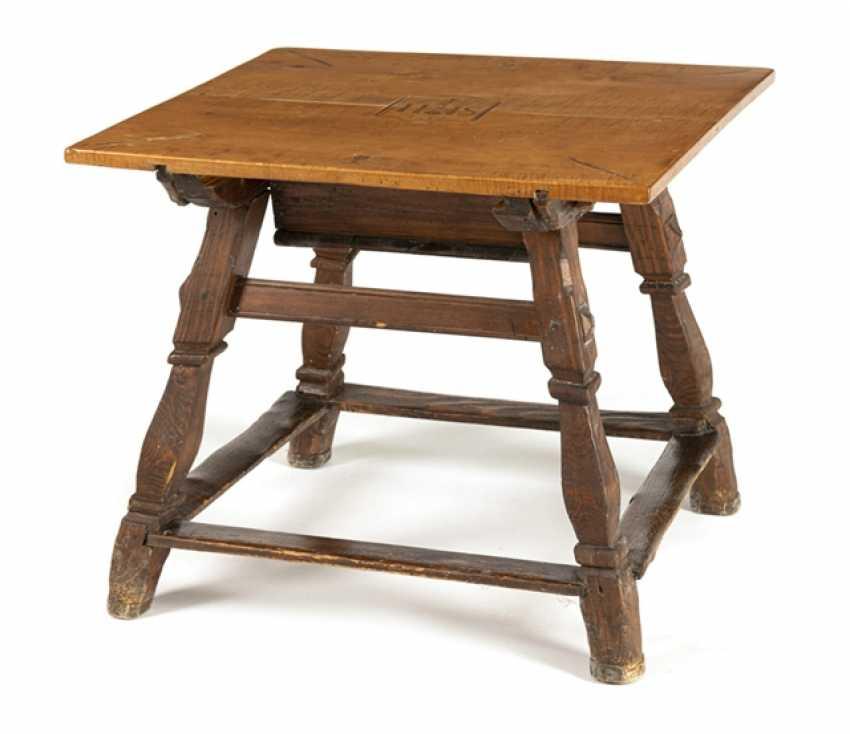 Angled post table - photo 1