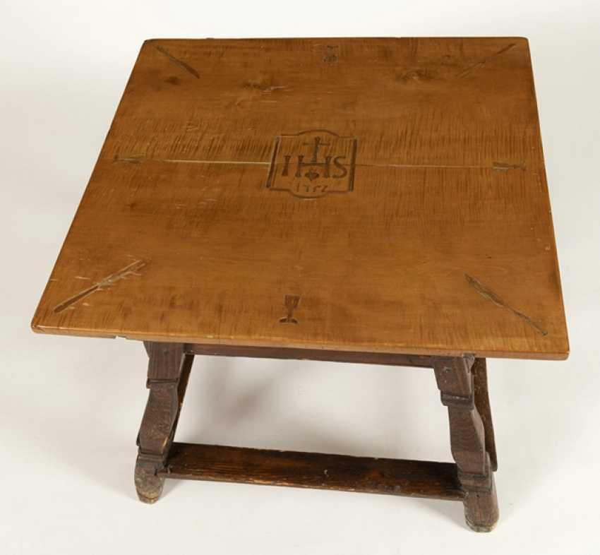 Angled post table - photo 2