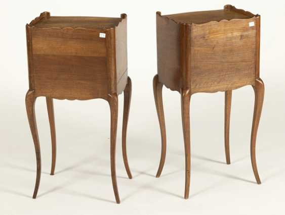 Pair Of Night Tables, France, - photo 3