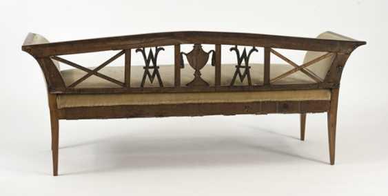 Biedermeier Bench,19. Century, - photo 2