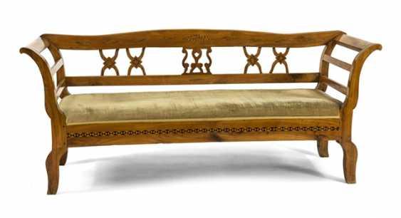 Biedermeier Bench, 19. Century., - photo 1