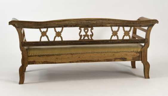 Biedermeier Bench, 19. Century., - photo 2