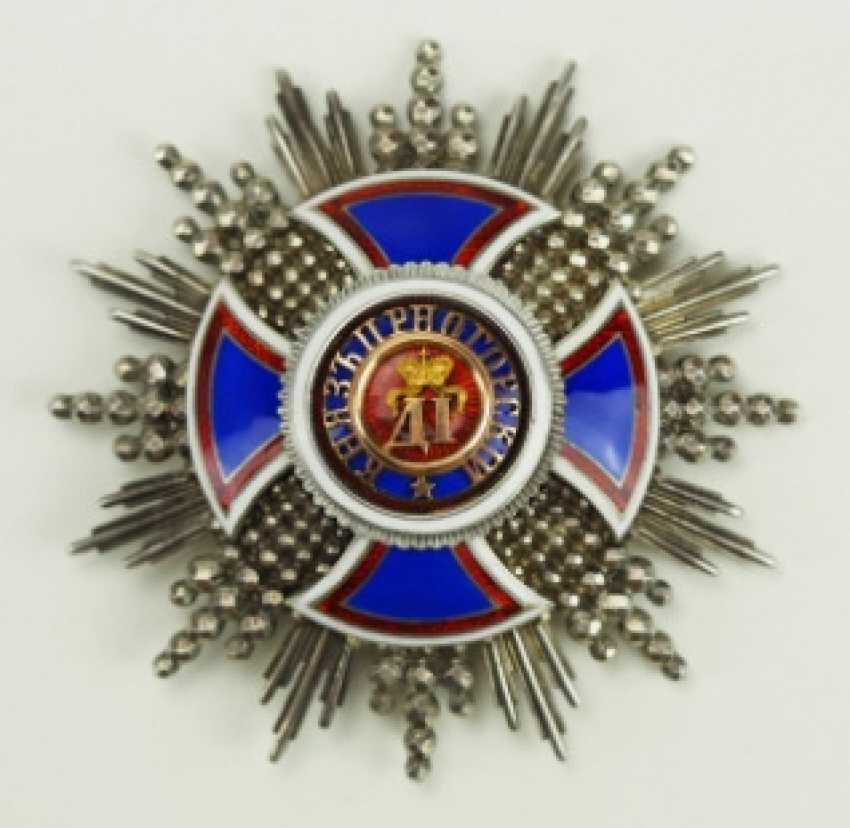 Montenegro: Danilo-Order, Comtur Star - photo 1