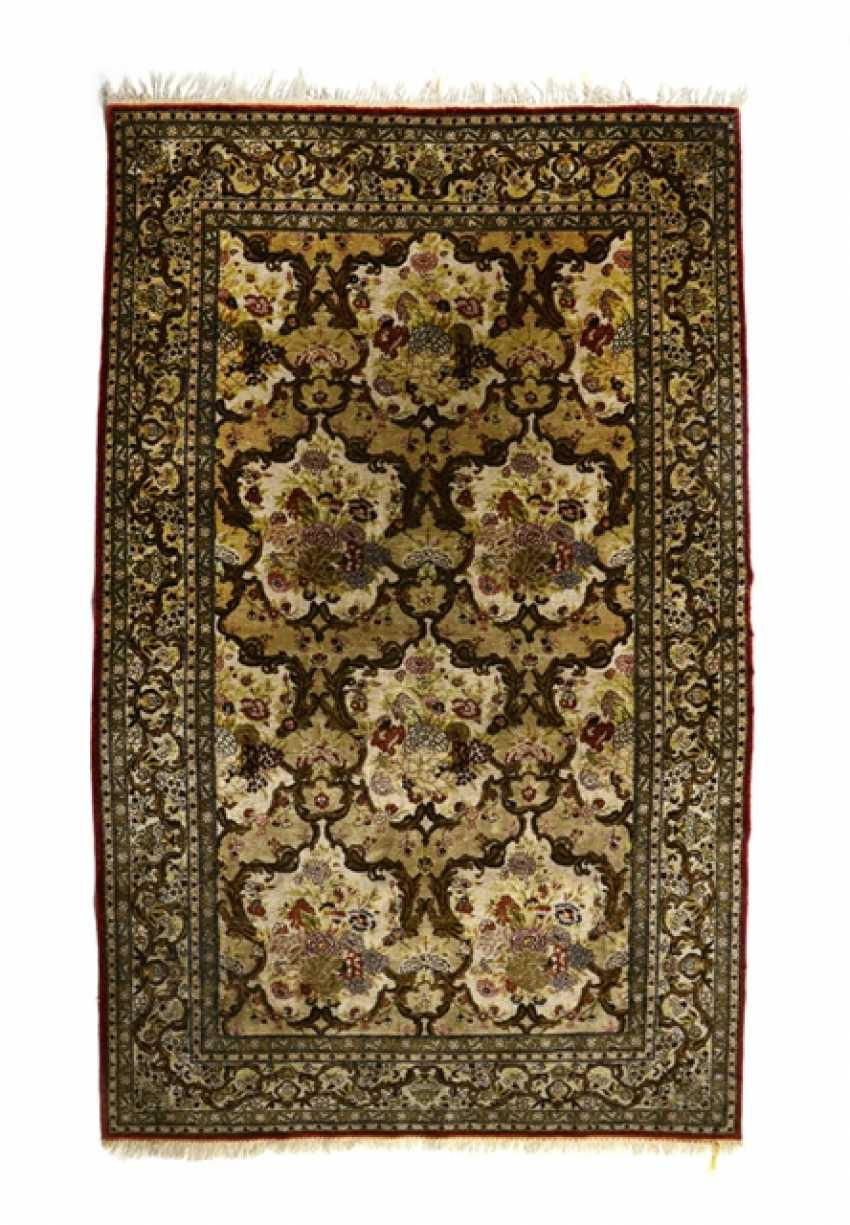 Silk Carpet, Central Persia, - photo 1