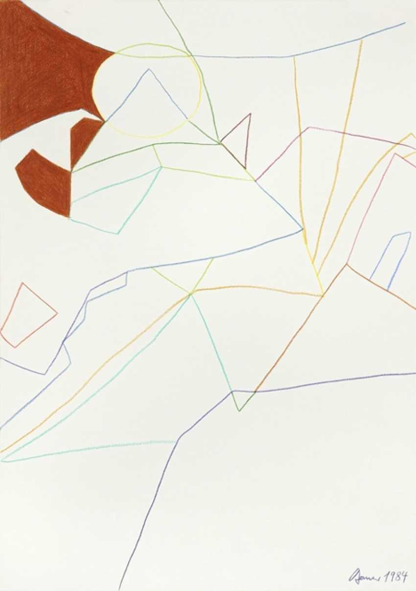 """Bauer, Herbert - 3 Works: """"Two Figures"""" - photo 2"""