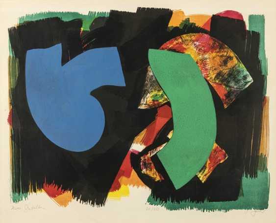 """Bauer, Herbert - 3 Works: """"Two Figures"""" - photo 3"""