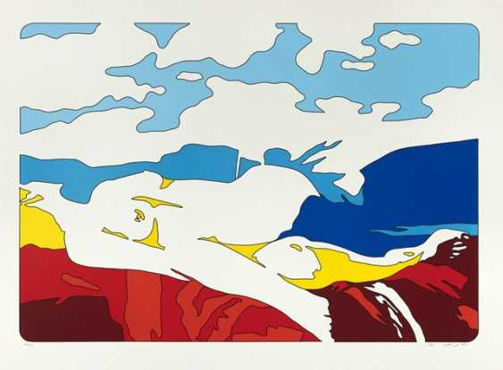 Berges, Werner - Reclining female Nude - photo 1