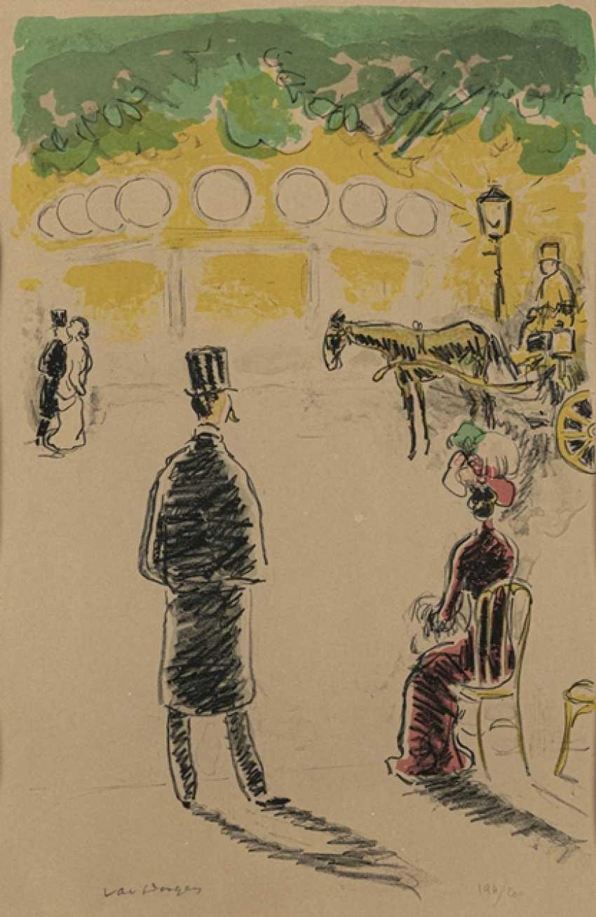 Dongen, Kees van - Le carrousel and le fiacre - photo 1