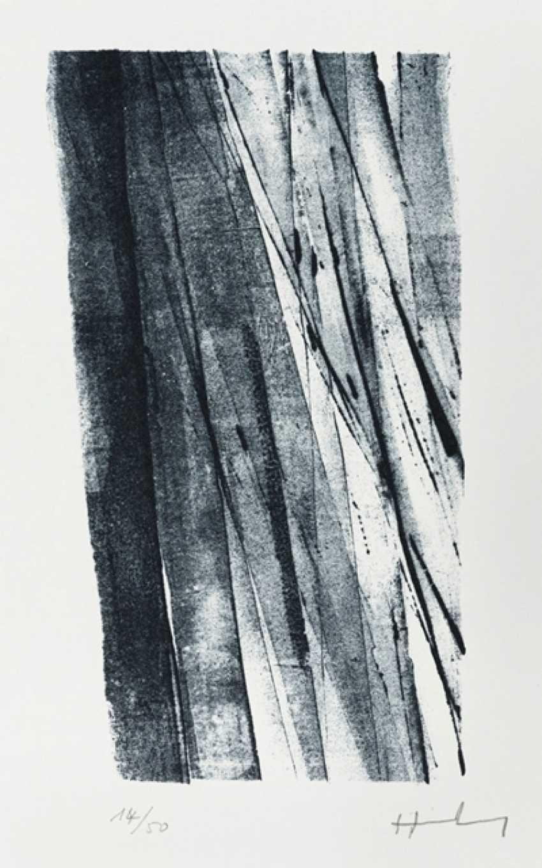 Hartung, Hans - Hans Hartung - 6 Lithographs, Ernst Jünger - Thoughts - photo 1