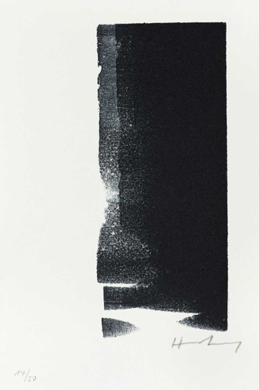 Hartung, Hans - Hans Hartung - 6 Lithographs, Ernst Jünger - Thoughts - photo 3
