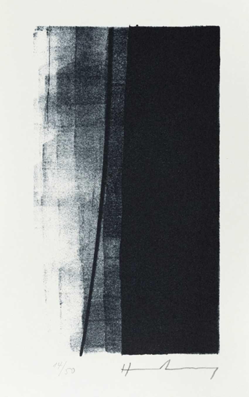Hartung, Hans - Hans Hartung - 6 Lithographs, Ernst Jünger - Thoughts - photo 4