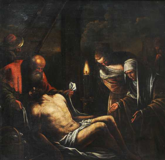 Francesco Bassano the Younger (1549–1592)-attributed, Descention from the Cross - photo 2