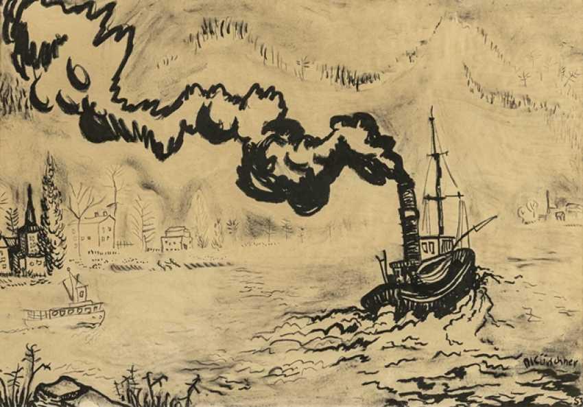 Furrier, Diether - steamer on the Rhine - photo 1