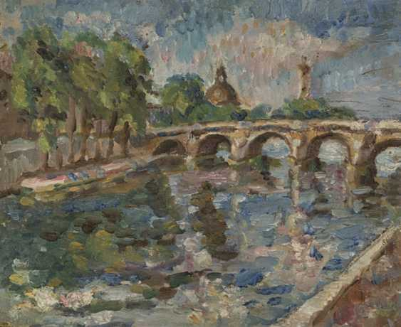 Lehmann, Alfred - The Seine Bridge - photo 1