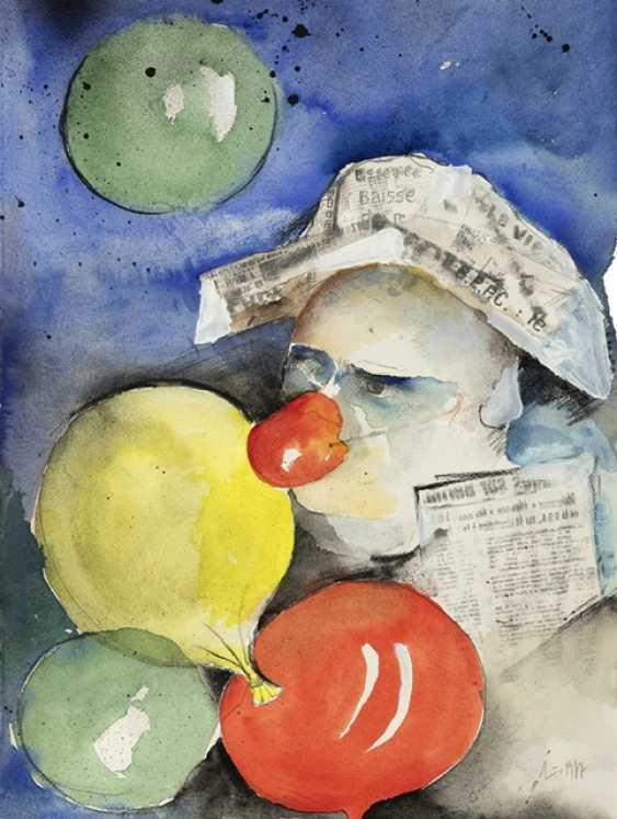 Lichtner-Aix, Werner - Clown with balloons - photo 1
