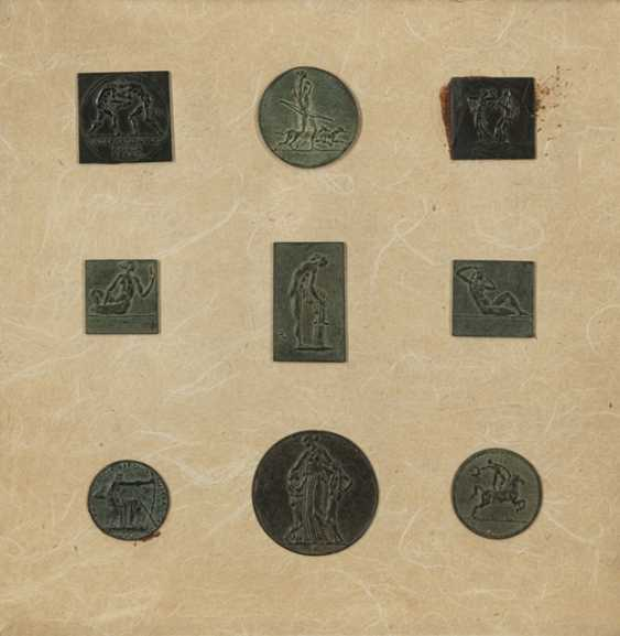 """Lörcher, Alfred - 9 medals and plaques: """"bathers to the right"""" - photo 1"""