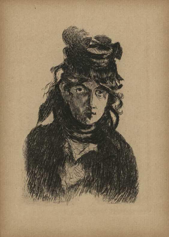 Manet, Edouard - Berthe Morisot - photo 1