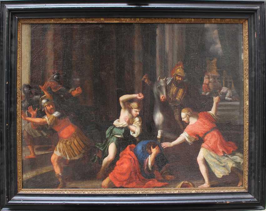 Italian School 17th Century, Old Testament scene - photo 1