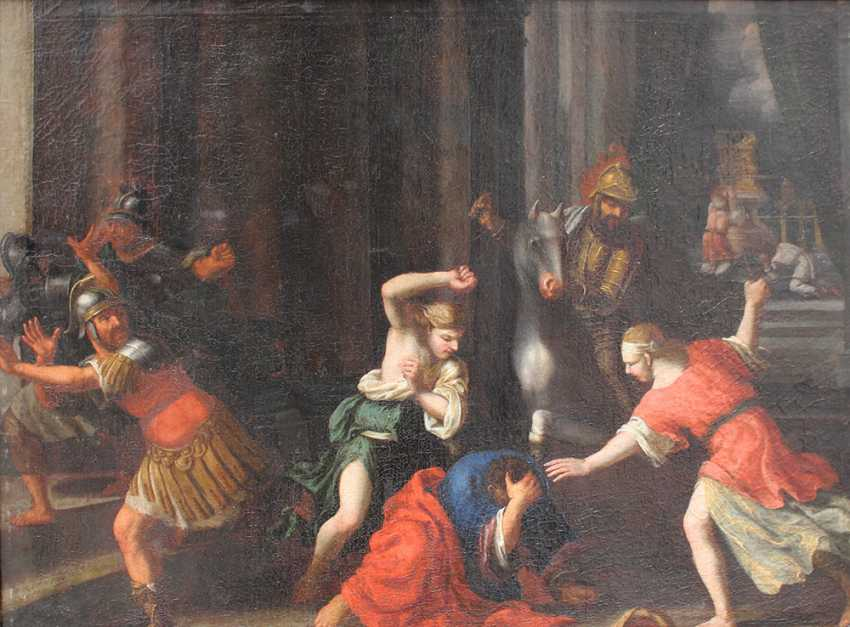 Italian School 17th Century, Old Testament scene - photo 2