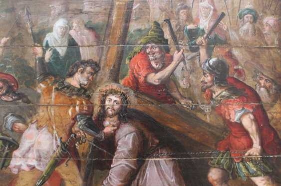 Flemish School 17th Century, Christ carrying the Cross - photo 2