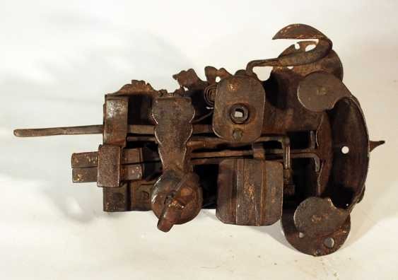 An iron forged door lock with hand grip and snatcher - photo 1
