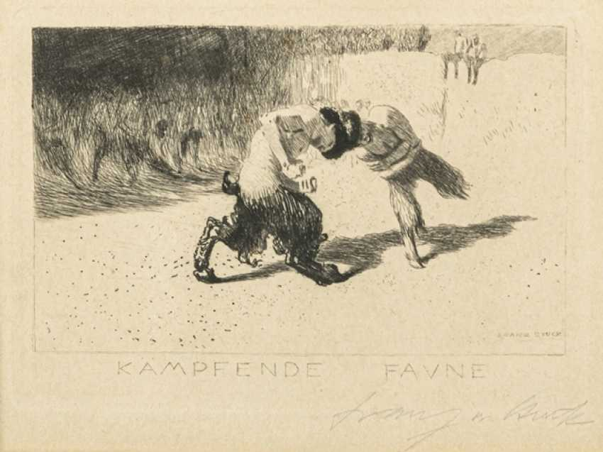 Stuck, Franz von - Fighting Fauns - photo 1