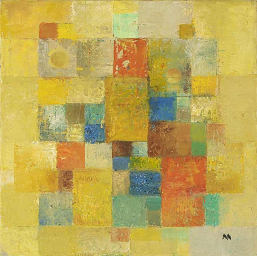 Thomann-Hegner, Margret - composition in Yellow - photo 1