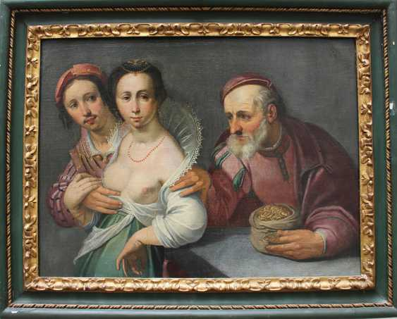 Cornelis Corneliszoon van Haarlem (1562-1638)-attributed, Allegory of love - photo 1