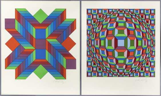 Vasarely, Victor - 2 Bl - photo 1