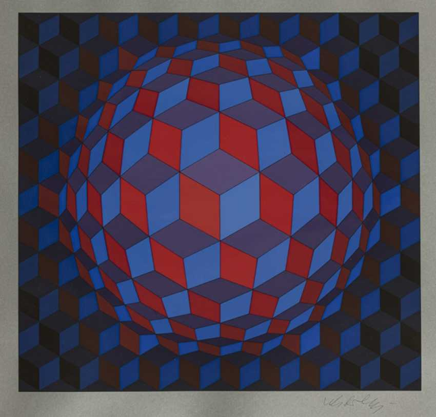 Vasarely, Victor - Untitled - photo 1