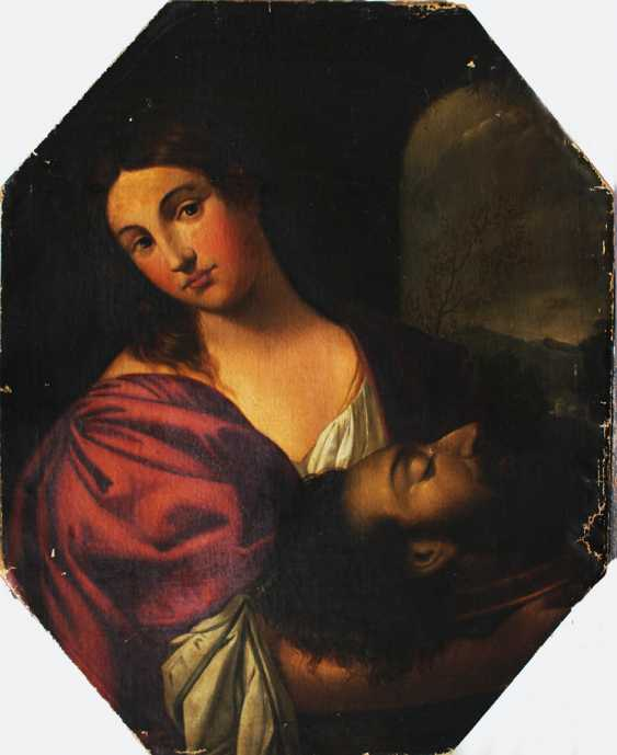 Palma Giovane (1548-1628)-follower, Salome with the head of Saint John - photo 3