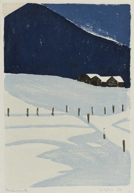 Wagner, Reiner - Winter Landscape - photo 1