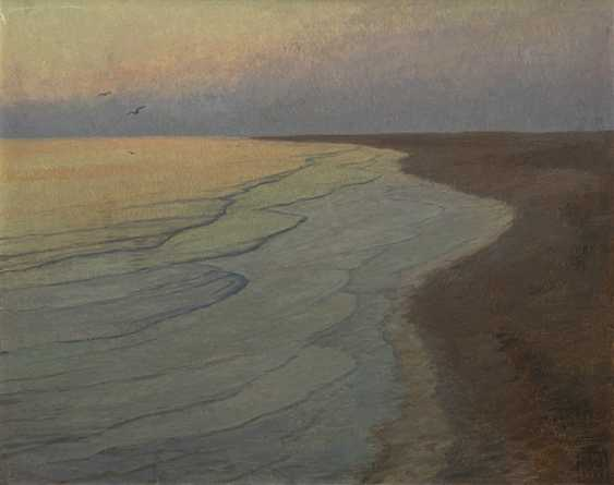 Weidemann, Magnus - a Silent night on the North sea beach - photo 1