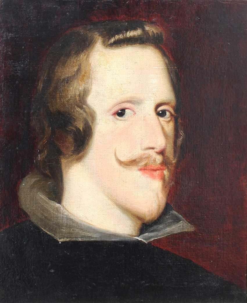Diego Rodríguez de Silva y Velázquez (1599-1660)-follower, Portrait of Phillip VI, from Spain, King of Portugal - photo 1