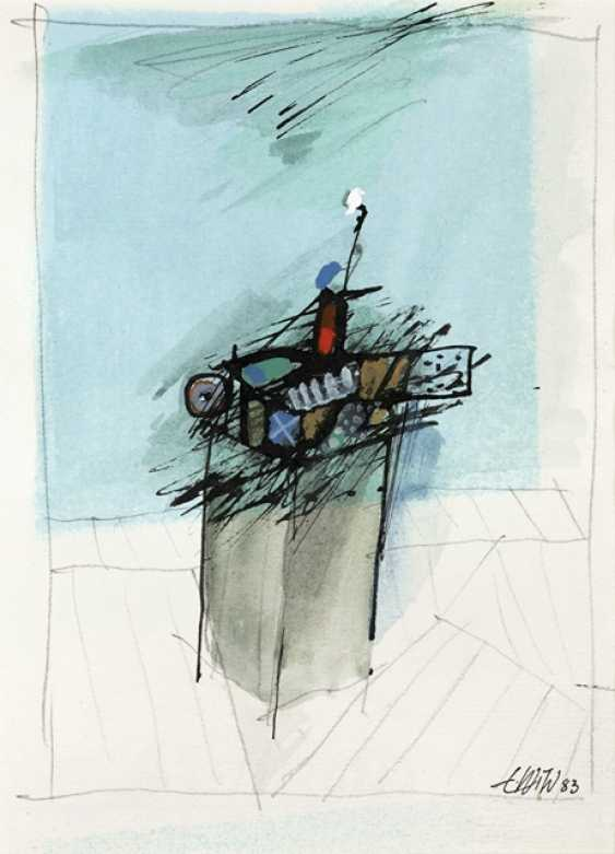 Group of 10 Works on paper - Various artists - photo 7