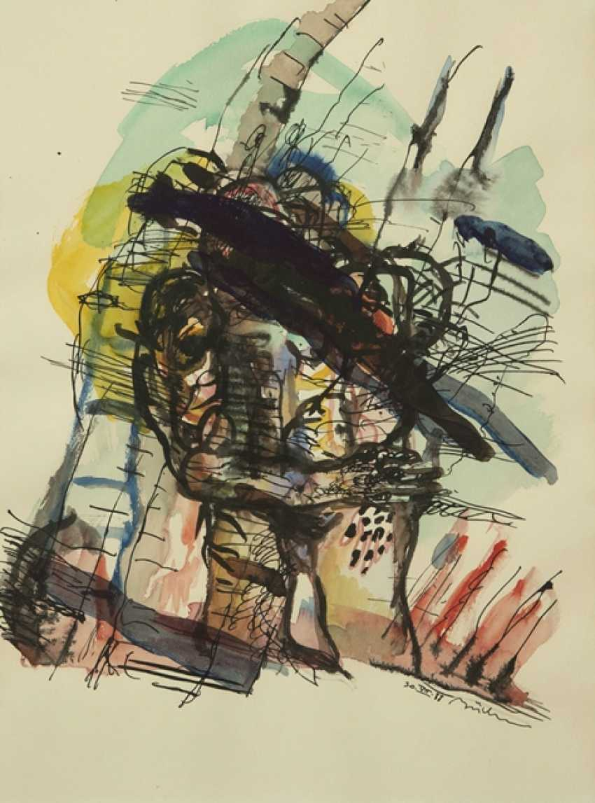 Group of 10 Works on paper - Various artists - photo 10