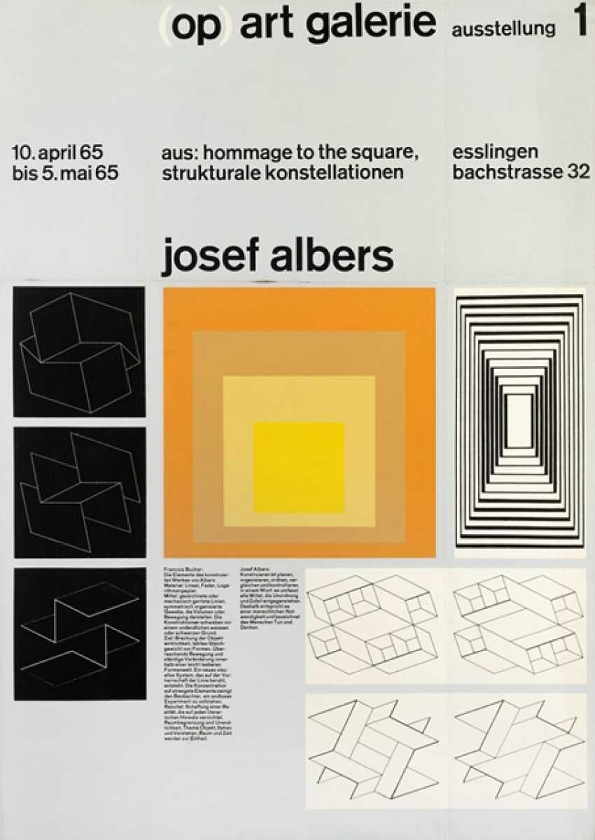 Group Of 12 Exhibition Posters - Various Techniques - photo 3
