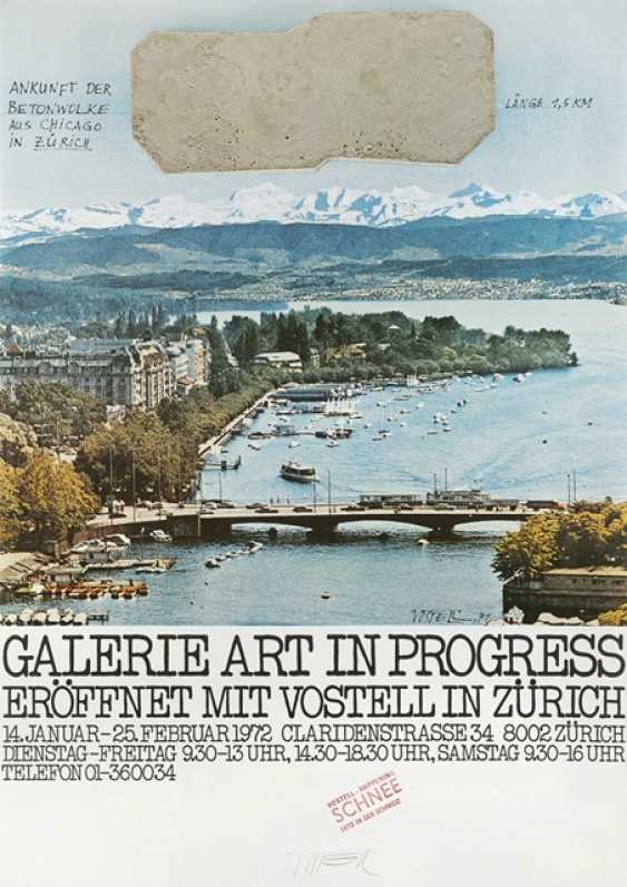 Group of 16 exhibition posters and graphics - Various artists - photo 10