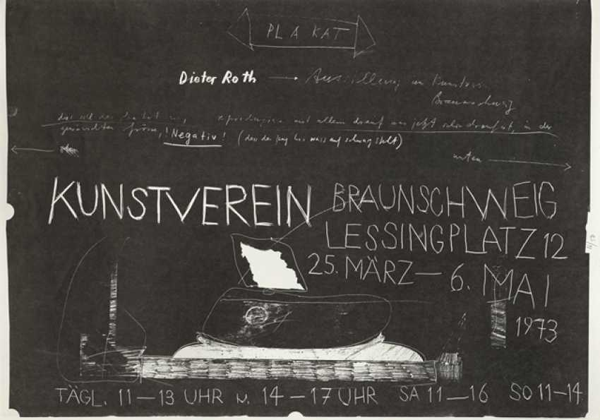 Group of 16 exhibition posters and graphics - Various artists - photo 11