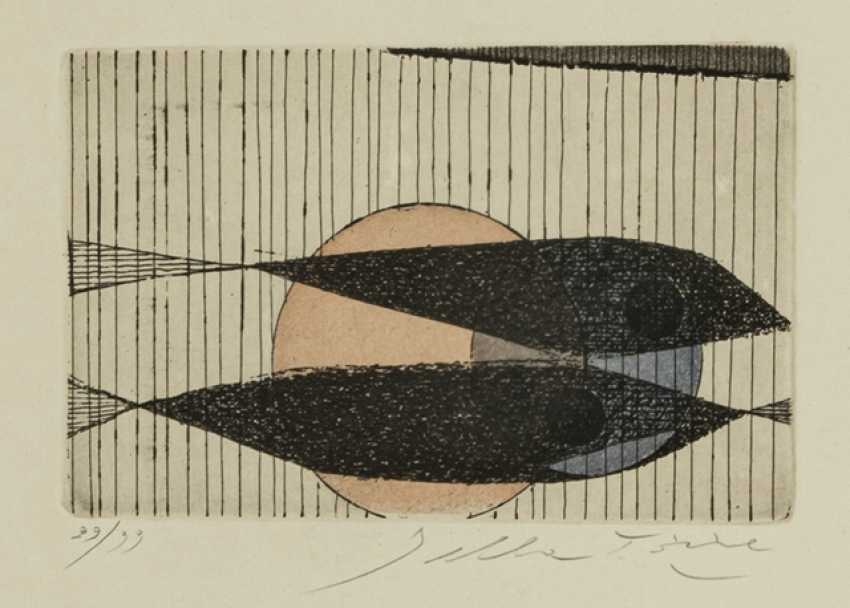 Group of 16 graphics and Works on paper - Various artists - photo 14