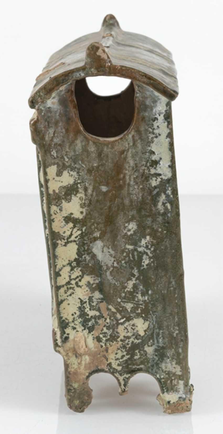 Model of a Shrine from Earthenware with lead-silicate glaze - photo 2