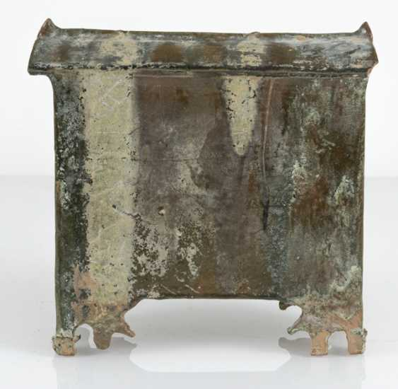 Model of a Shrine from Earthenware with lead-silicate glaze - photo 3