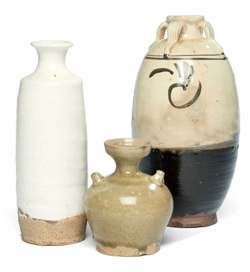 Three vases are part of Cizhou-Ware - photo 1
