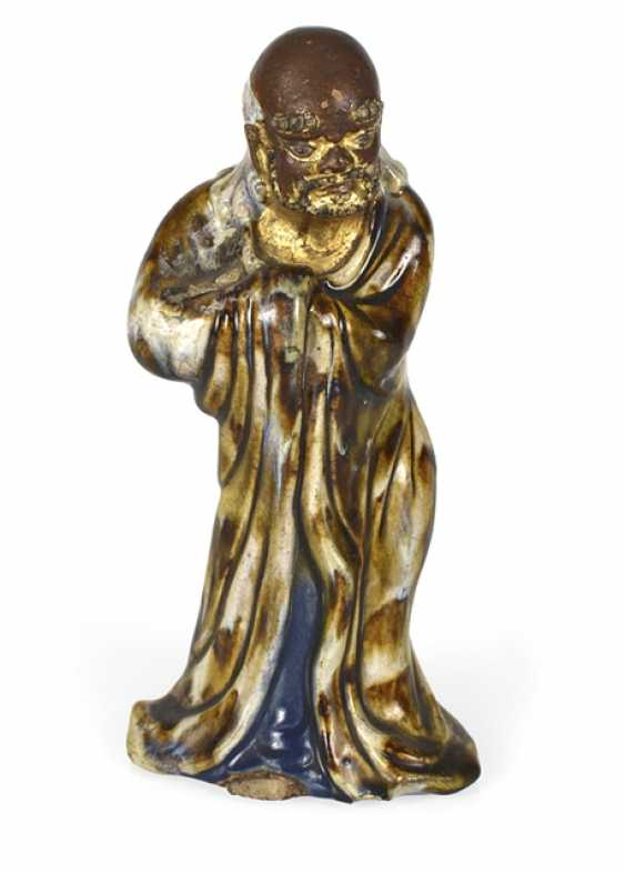Shiwan-Figur des Bodhidharma - photo 1